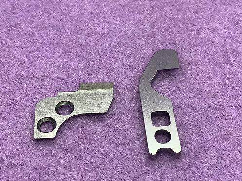 Overlock Maschinen Unter und Obermesser für W6- Janome -Quelle- Privileg