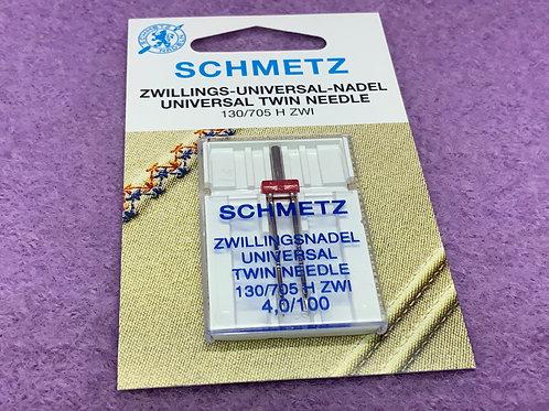 Schmetz Zwillingsnadel Universal 4,0 mm Stärke 100