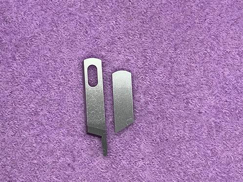 Ober und Untermesser ( ohne Loch) Messer für Singer 14U-14SH