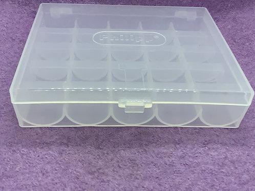 Leere Box für 25 Spulen