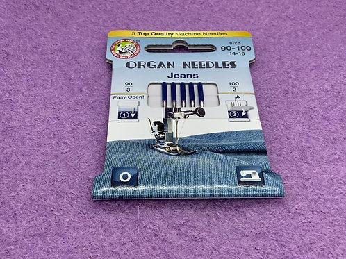 Organ Jeans Nadel Stärke 90-100