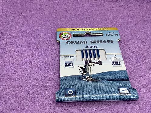 Organ Jeans Nadel Stärke100