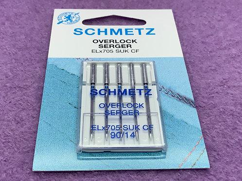 Schmetz Overlocknadel Nadel System 130 / Stärke 90 CF, SUK