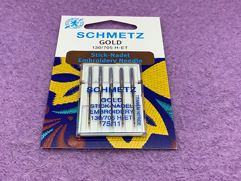 Schmetz Stick Nadel Stärke 90 GOLD