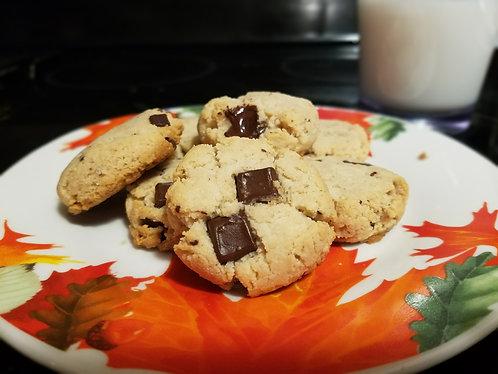Chocolate chip keto cookies (6)