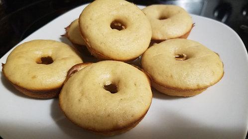Peanut butter mini donuts (6)