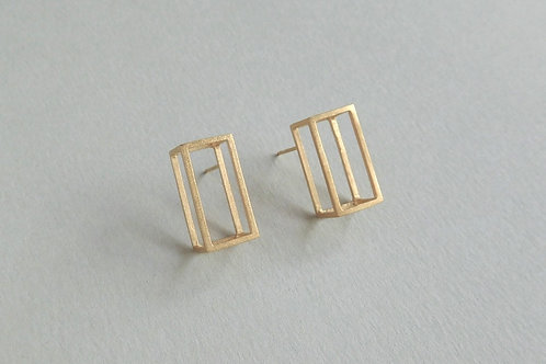 single frame earrings