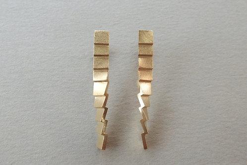 long roof earrings