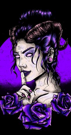 Demon Girl Shhh
