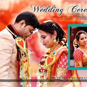 Ritesh weds Shanthi