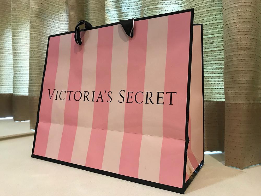 Victoria's Secret Shopping Bag Branding Marketing