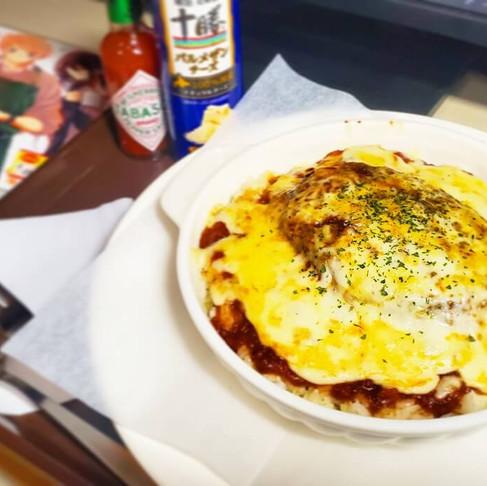 インターネットカフェ「コローレ」の絶品フードメニュー!~ハンバーグドリア~