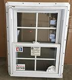 22 30 single hung white vinyl window wit