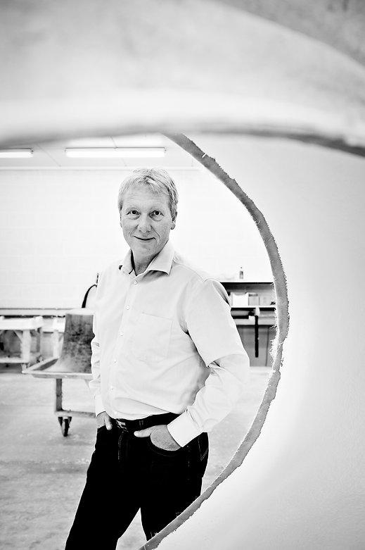 Kjell Christensen er gründer og designer av alle Hurricane produkter.