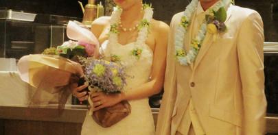 Wedding Lei レッスン