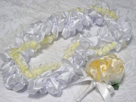 Happy Wedding Lei for friend