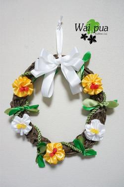 Hibiscus Wreath original