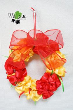 Hibiscus Wreath Red