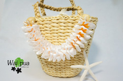 Plumeria Bag Charm