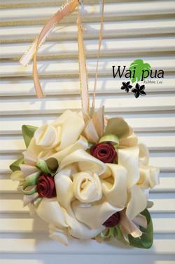 Elegant rose doorknob Charm