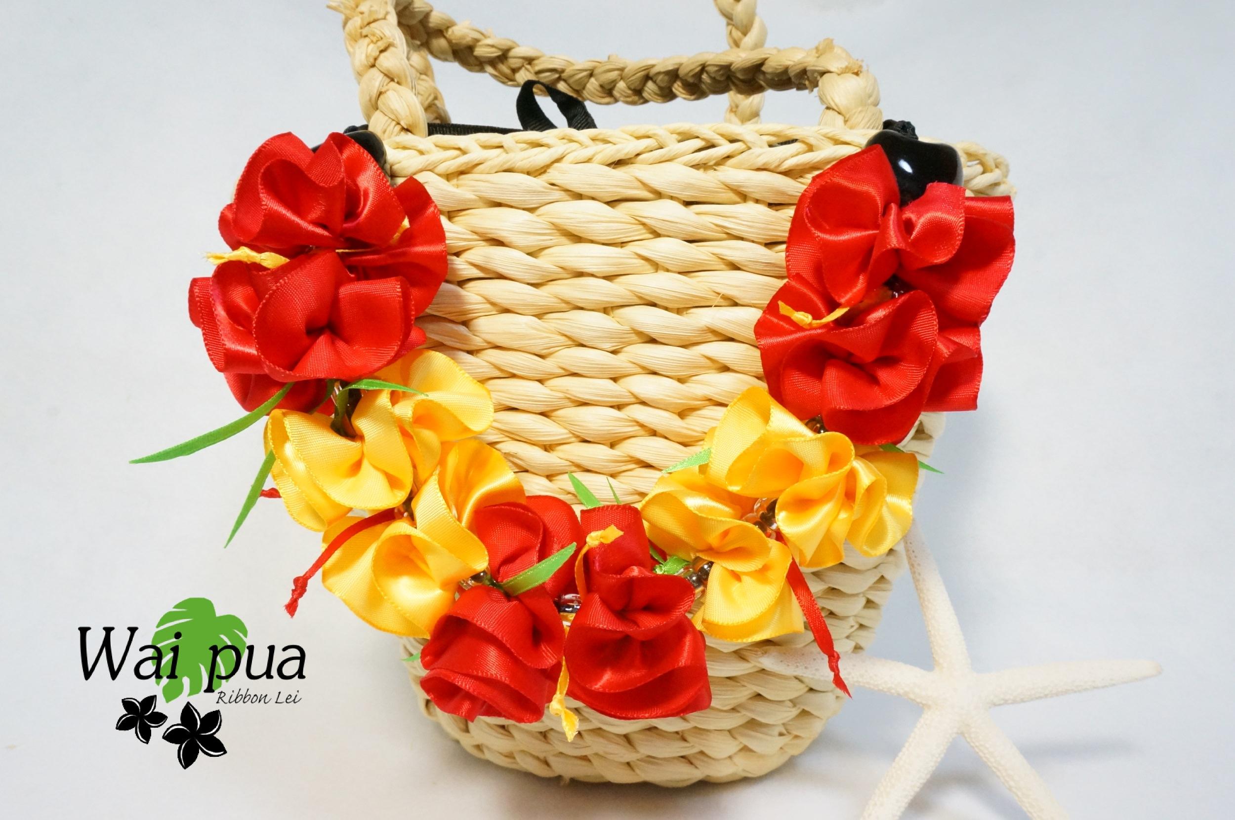 Hibiscus Bag Charm