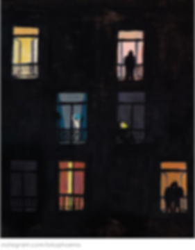 parisiens à la fenêtre covid