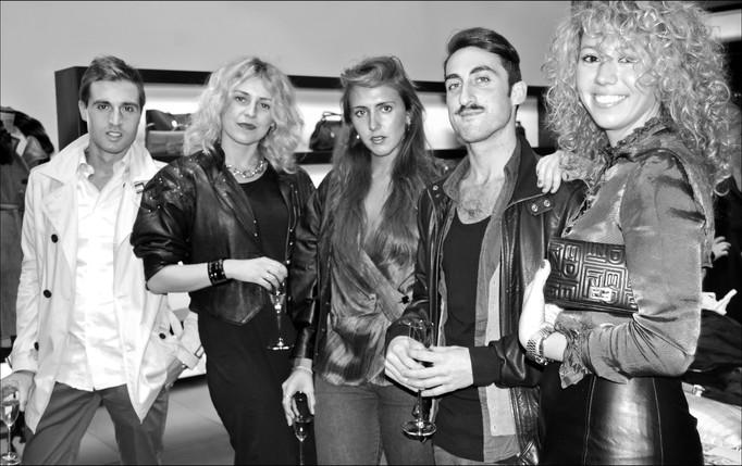 Fendi Store Vogue Night, London.