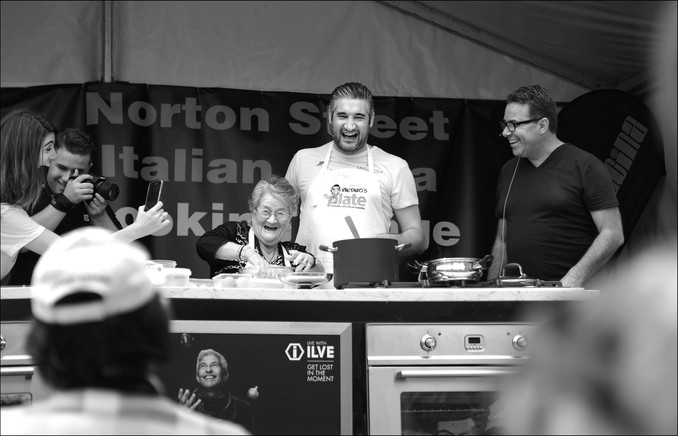Vincenzo's Plate at Norton Street Festa, Sydney.