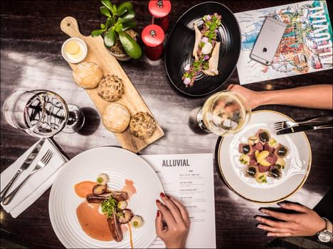 Alluvial Restaurant, InterContiental Melbourne the Rialto.