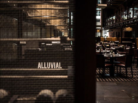 Alluvial Restauratn, InterContiental Melbourne the Rialto.