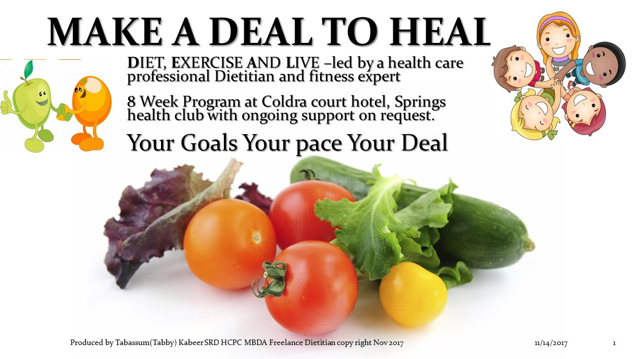 MAKE A DEAL TO HEAL success story