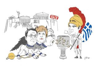 la Grecia di Tsipras: una democrazia non ricattabile