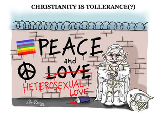 Christianity is tollerance(?)