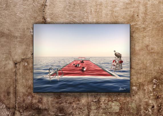Lifeguard - Grand Hotel Mediterrareo Collection (2017) by Alessandro Federico-Veca