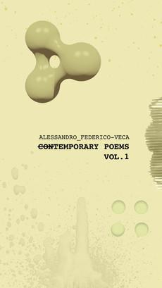 Tempoary Poems Vol.1, Alessandro Federico Veca (2019)