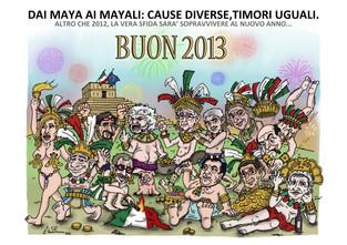 Dai Maya ai Mayali…Buon 2013!