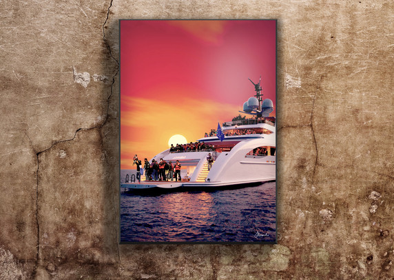 Mediterraneo sunset - Grand Hotel Mediterrareo Collection (2017) by Alessandro Federico-Veca