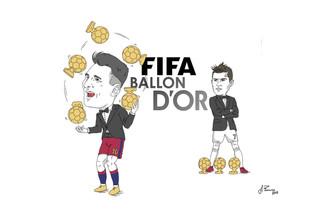 Messi vince il quinto Pallone d'Oro