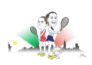 US Open: an italian job