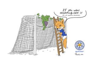Leicester FC da leggenda: la volpe che ha preso l'uva