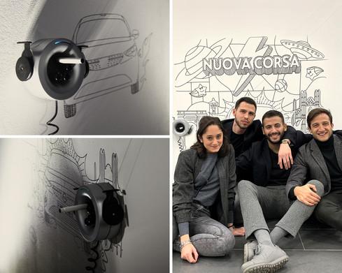 Alessandro + Scribit - Nuova Opel Corsa Launch Event, Alessandro Federico Veca, Milan (2019)