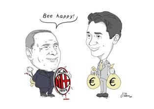 Milan had Bee happy