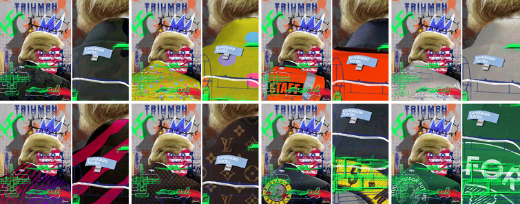 Limited Edition n.1-2-3-4-5-6-7-8 / Triumph, Alessandro Federico Veca (2017) -  Politic° Collection