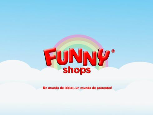 Funny Shops logo & graphics