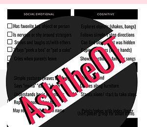 Pink & Black Minimal Chic Checklist List