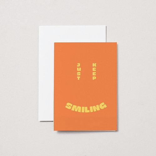 Aisle Studio - Card - Keep Smiling