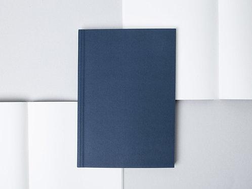 Ola Studio - Medium Layflat Notebook - Navy