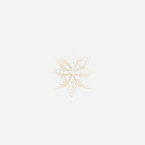 Ornament, Ouilling, White