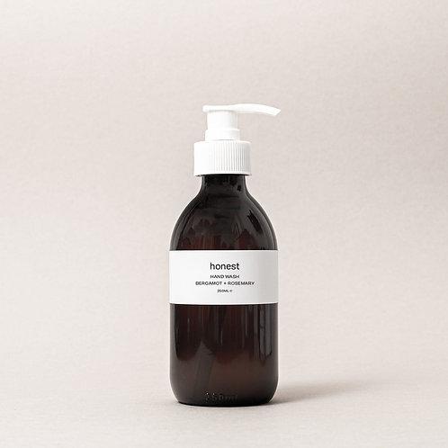 Honest skincare - Bergamot + Rosemary Handwash 250ml
