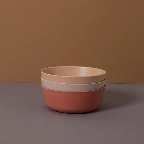 CINK - bowl 3 pack - fog/rye/brick